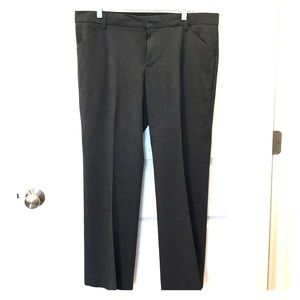 Gap charcoal grey trousers